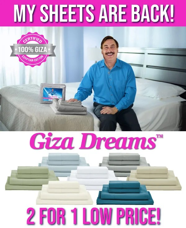 my pillow dream sheets cost online