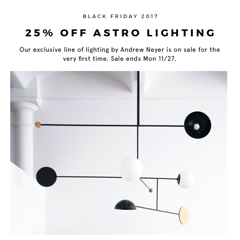trnk our exclusive lighting series by