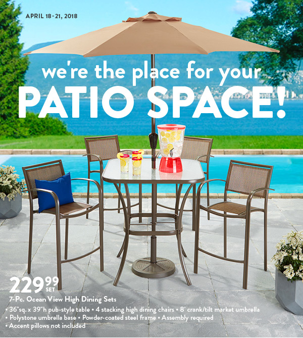 summer ize your perfect patio