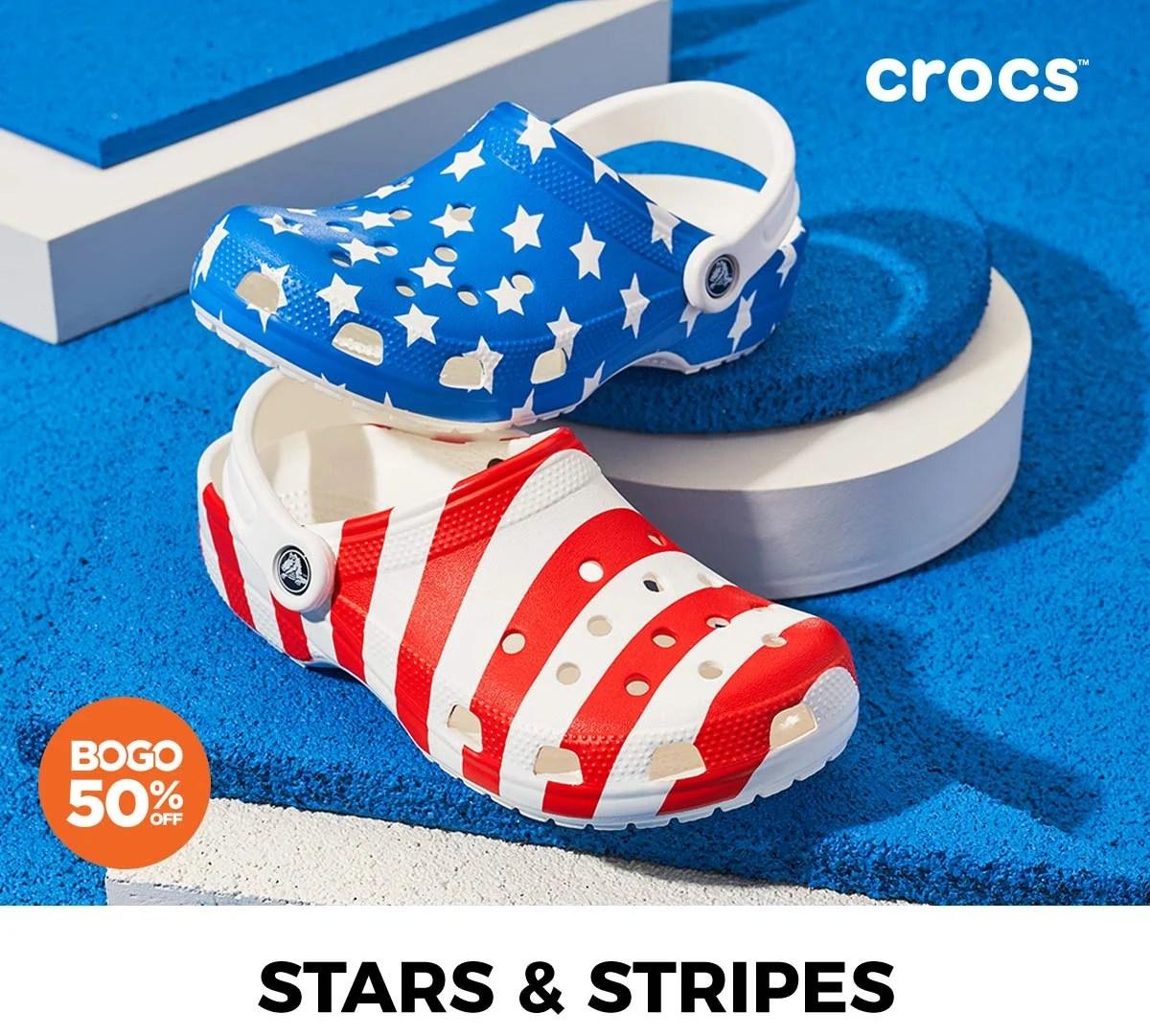 rack room shoes sandals crocs to