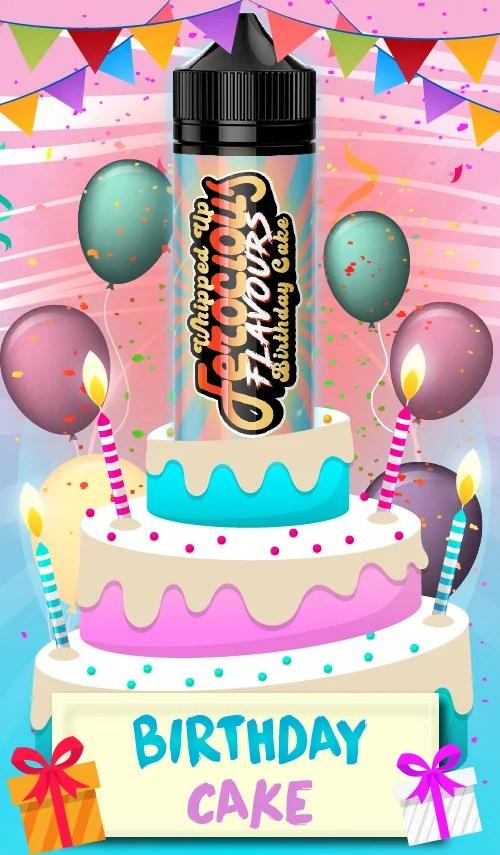 Ecig Vapers New Birthday Cake E Liquid Milled