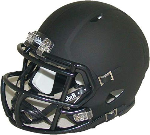 Matte Black Blank Riddell Revolution Speed Mini Football Helmet Football Other Hotelhrpalace In