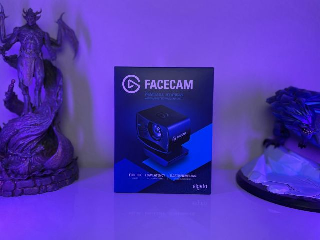 Elgato Facecam Review Package