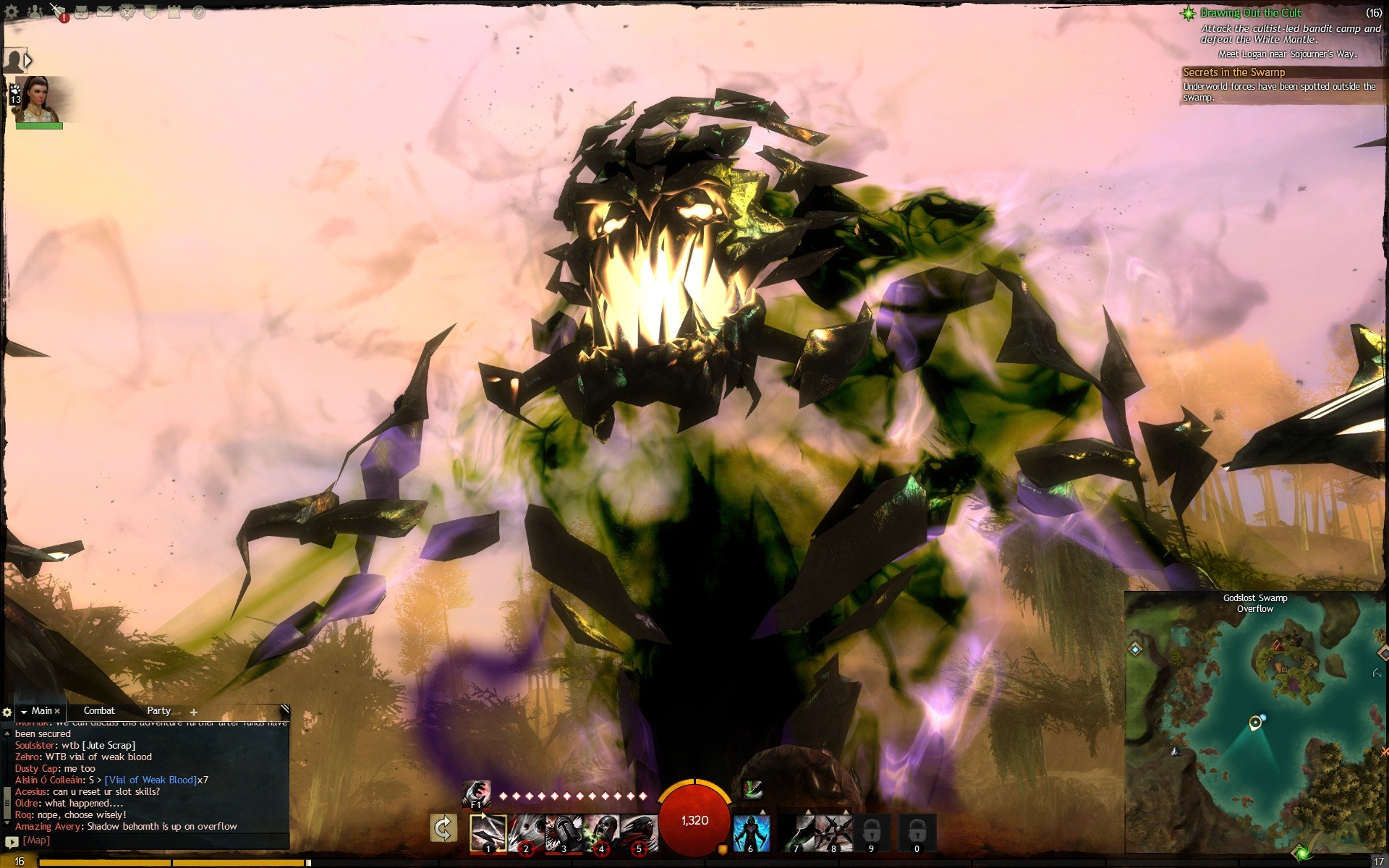 Shadow Behemoth Lvl 15 Boss Guild Wars 2 Galleries