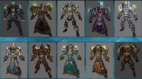 World Of Warcraft Arena Season 8 Armor Preview