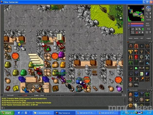Tibia Screenshots