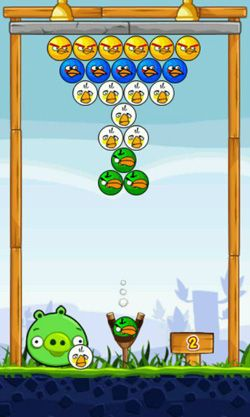 Screenshots of the Angry Shooter for Android tablet, phone.