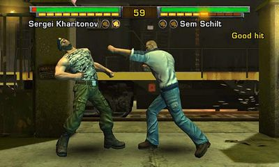 Screenshots of the Fight Game Heroes for Android tablet, phone.