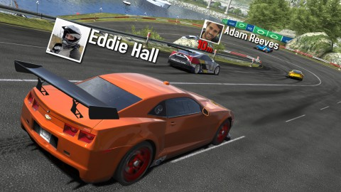 Screenshots of the GT Racing 2: The Real Car Exp for Android tablet, phone.