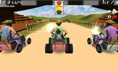 Screenshots of the Lawn Mower Madness for Android tablet, phone.