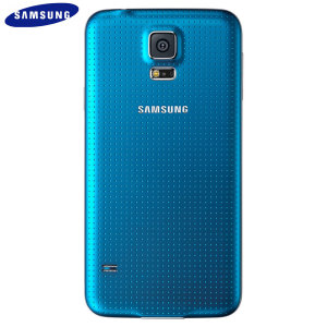 Official Samsung Galaxy S5 Back Cover - Electric Blue