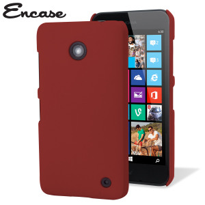 ToughGuard Nokia Lumia 630 / 635 Rubberised Case - Solid Red