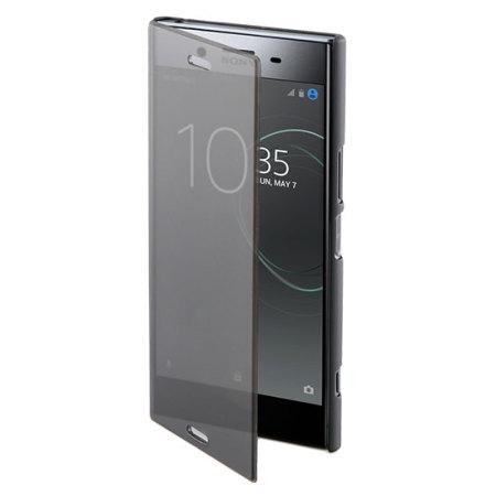 Coque Sony Xperia XZ1 Roxfit Touch Book avec support – Noire