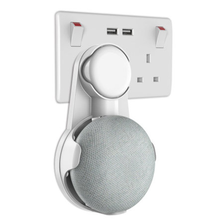 support mural universel google home mini olixar blanc