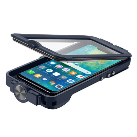 Official Huawei Mate 20 Pro Waterproof Snorkeling Case Blue