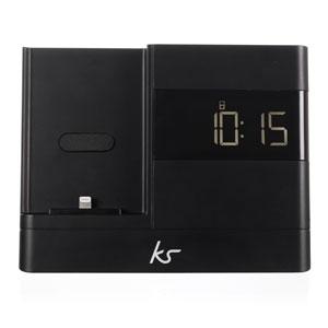 KitSound X-Dock 2 Lightning Connector Clock Radio Dock for iPhone 5