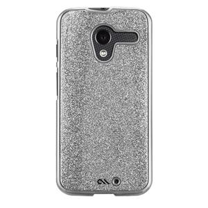 Case-Mate Glimmer for Moto X - Silver