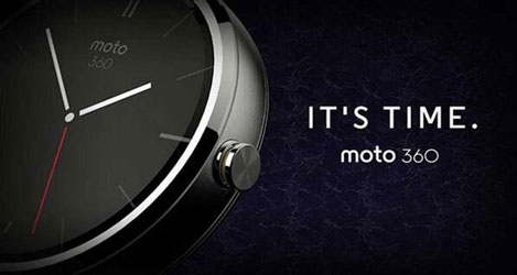 Motorola Moto 360 SmartWatch - Metal