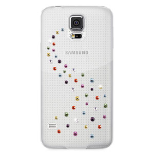 Bling My Thing Milky Way Collection Galaxy S5 Case - Cotton Candy