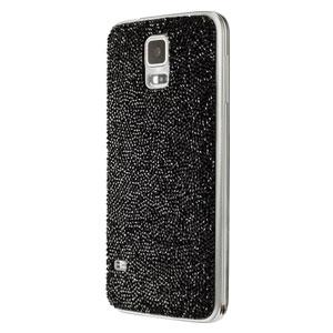 Official Samsung Galaxy S5 Swarovski Studded Back Cover - Black