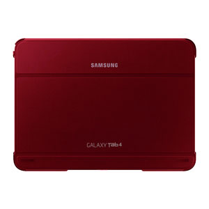 Official Samsung Galaxy Tab 4 10.1 Book Cover - Plum Red