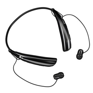 LG Tone Pro HBS750 Bluetooth Wireless Headset - Black