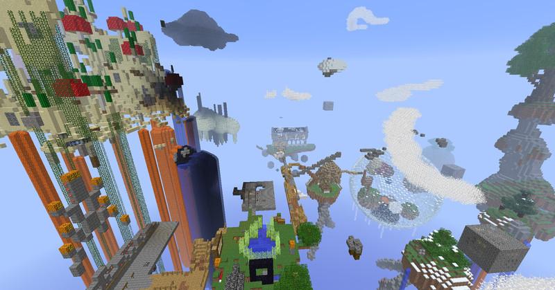 Maps Does Sky Minecraft