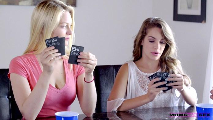 MomsTeachSex.com - Alli Rae,Brandi Love,Kimmy Granger: The Wild Card - S4:E7