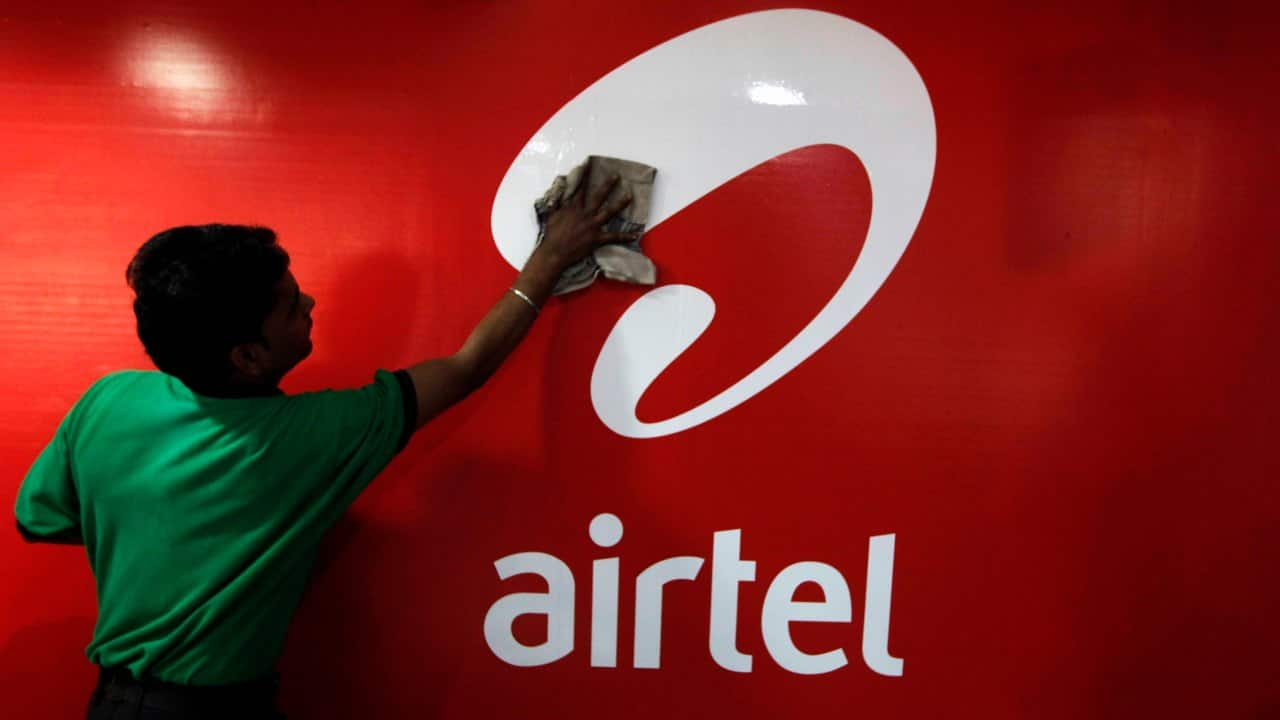Bharti Airtel | CMP: Rs 568 | The share price shed over 3 percent as Jio said it targets to connect 500 million customers in the next three years.