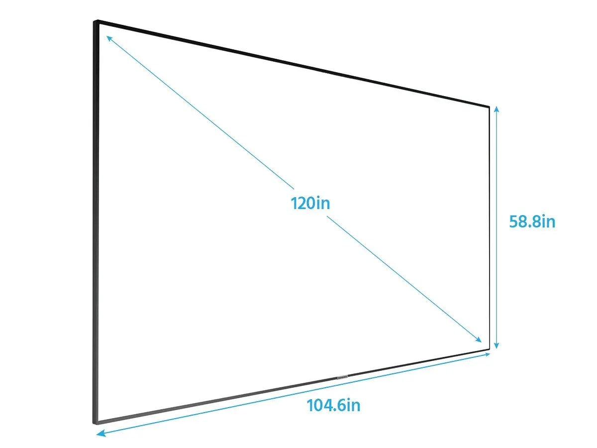 Monoprice 120 Inch Ultra Hd 4k Fixed Frame Projection