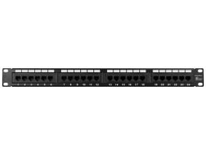 Monoprice 7253 Cat6 Patch Panel 110 Type 24 Port (568AB Compatible) 844660072539   eBay
