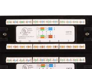 Monoprice 48port Cat6 Patch Panel, 110 Type (568AB