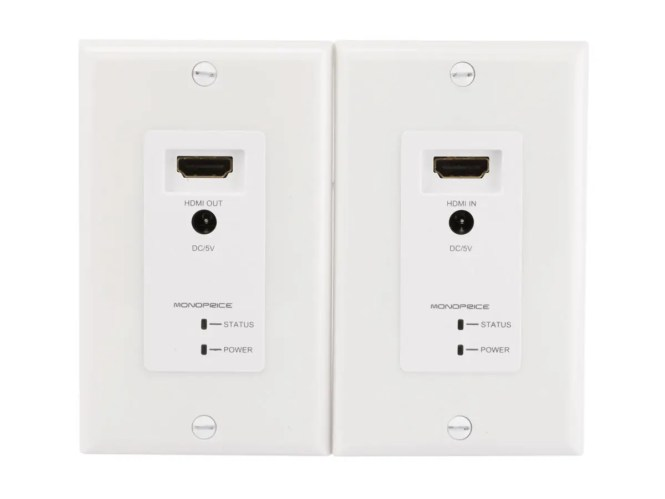 Cable Tv Wall Plate Receptacle