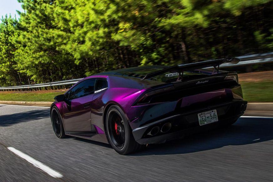 Atlanta Custom Wraps' Lamborghini Huracan on Forgeline ...