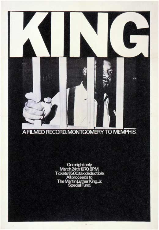 King: A Filmed Record... Montgomery to Memphis 1970 movie