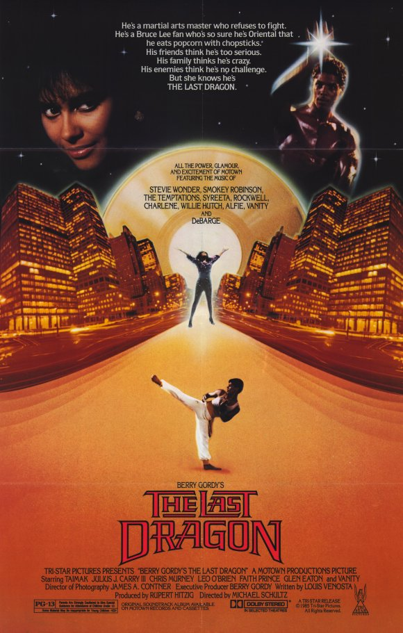 Image result for the last dragon film poster