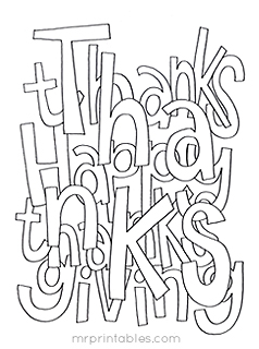thanksgiving coloring pages mr printables