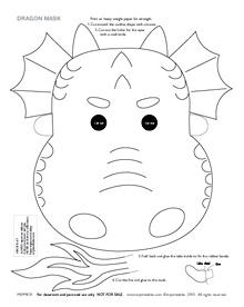 Printable Dragon Masks Mr Printables