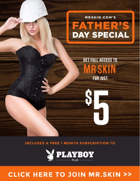 Mr Skins Fathers Day Special