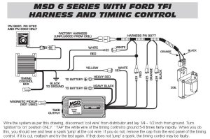 6 Series Timing Control TFI Harness  MSD Blog