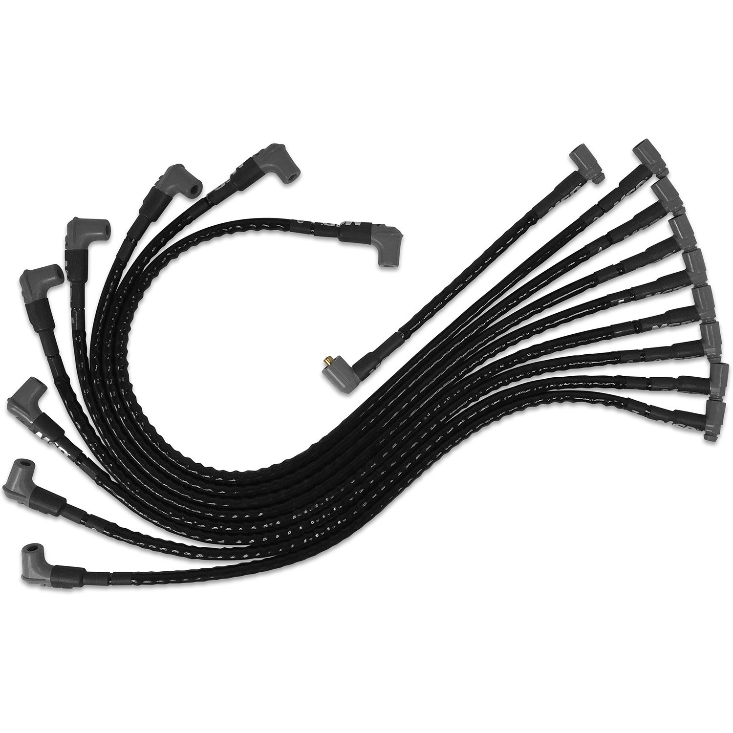Msd Sleeved Spark Plug Wires For Sbc Under Exhaust