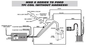 Ford TFI To Timing Control To 6420 WO Harness  MSD Blog