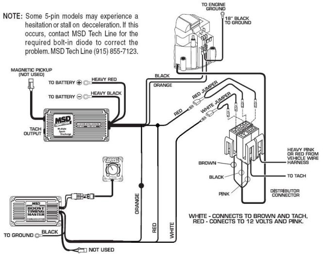 hei distributor wiring diagram ford wiring diagram junk yard genius dual ignition upgrade page msd 6al wiring diagram hei distributor wire source