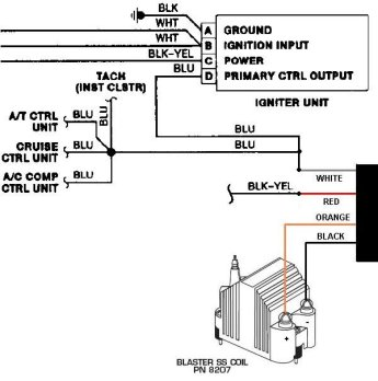 msd coil wiring diagram msd image wiring diagram msd blaster ss coil wiring diagram the wiring on msd coil wiring diagram