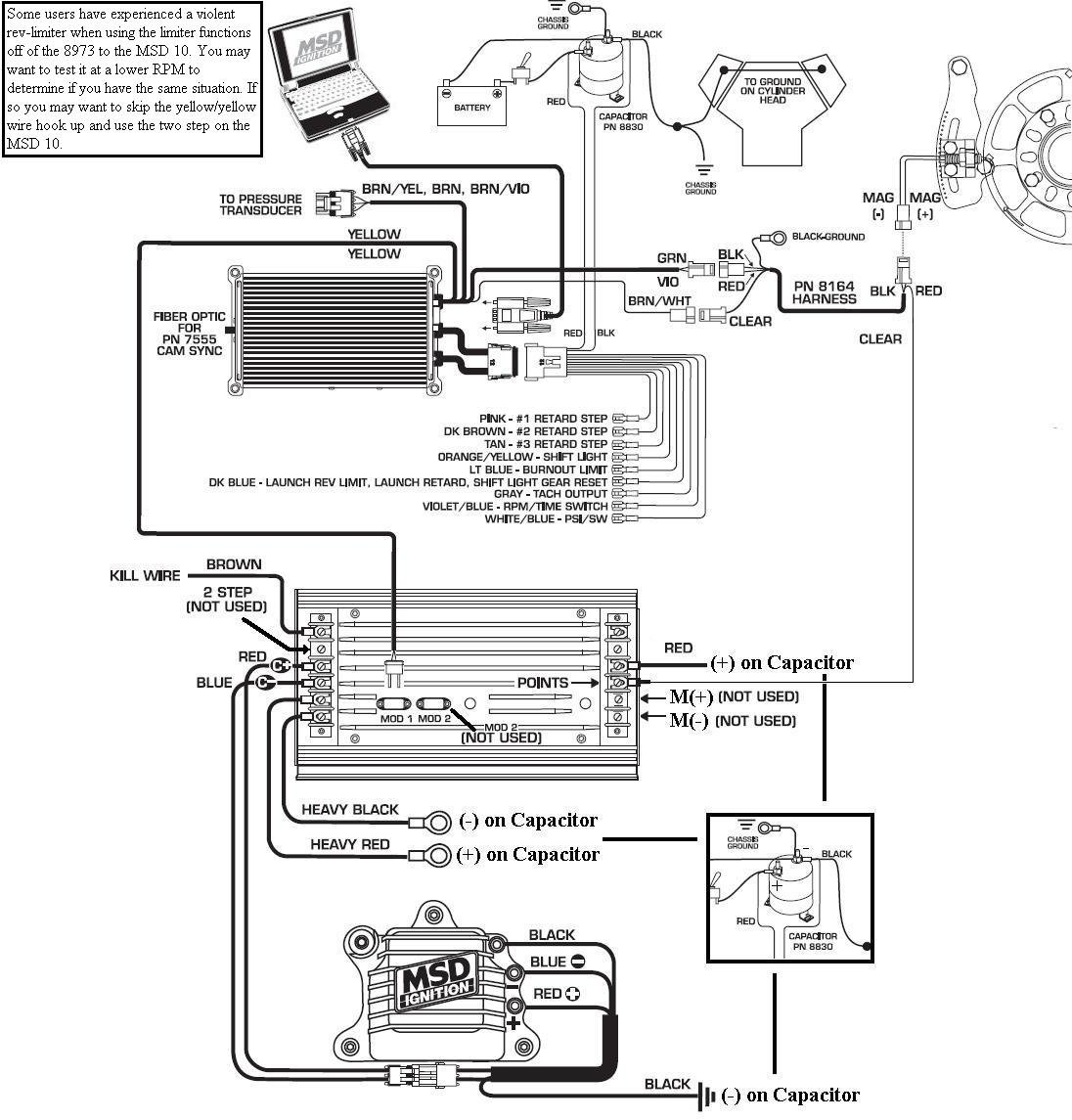 Msd Wiring Diagram