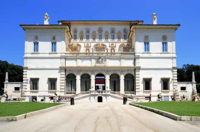 Galleria Borghese ile ilgili görsel sonucu