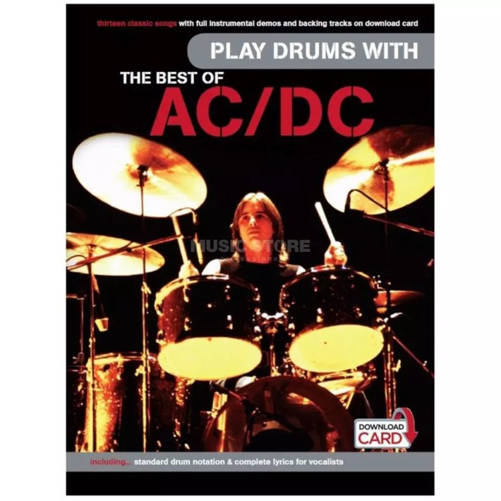 wise publications play drums with the best of ac/dc
