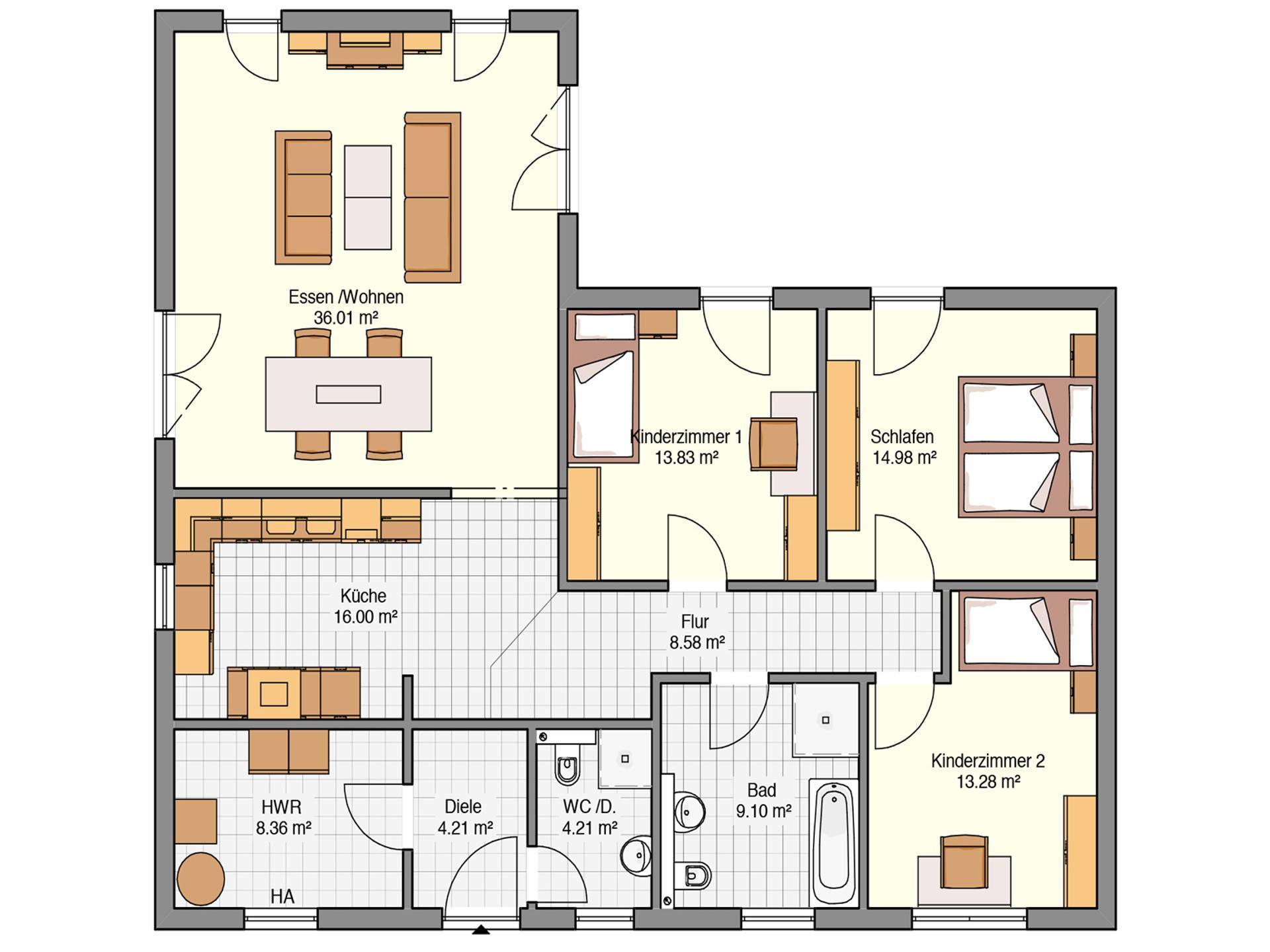 Haus Pultdach Grundriss Haus Hein Fertighaus Keitel Haus