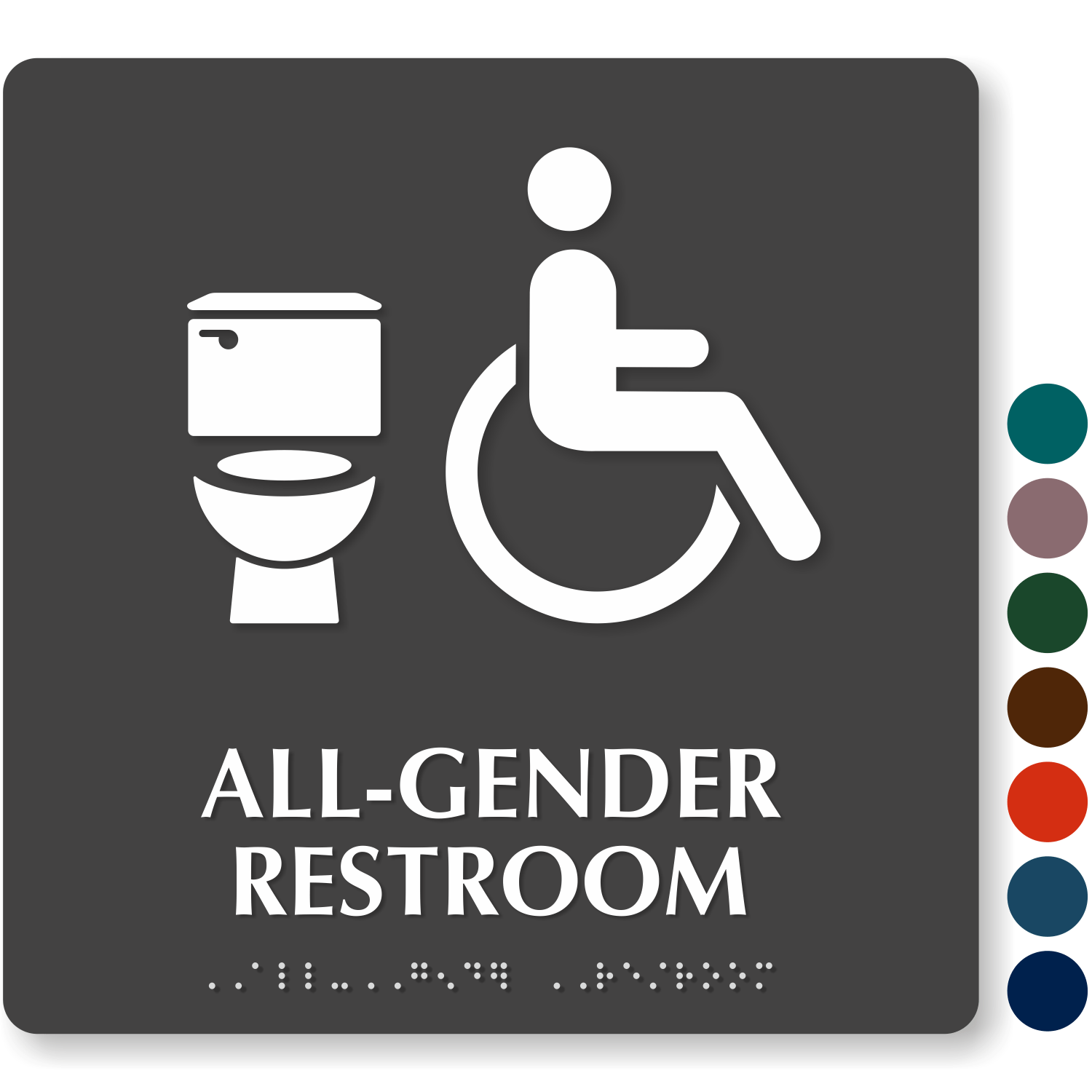 Image result for all gender bathroom signs