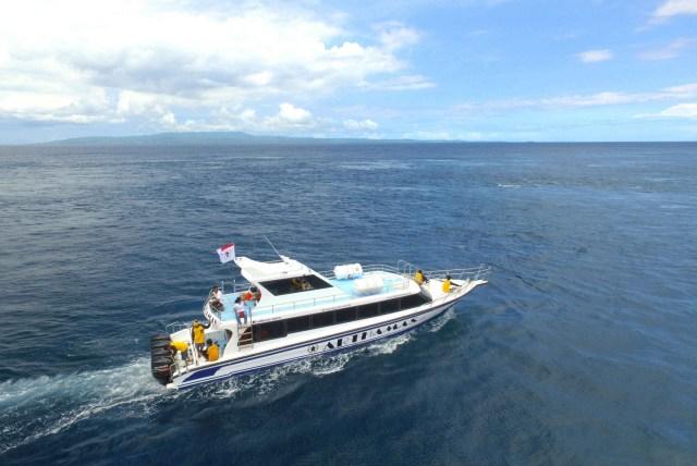 Fast boat ke Lembongan